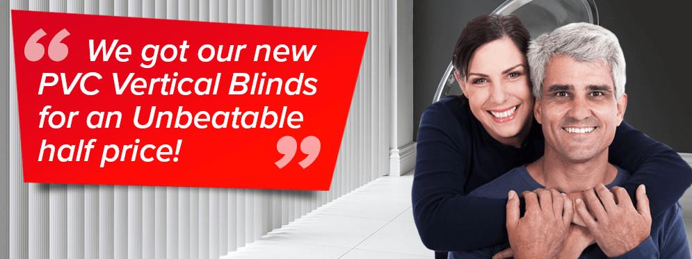Rigid PVC Vertical Blinds